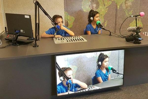 אולפן רדיו TV בית הספר הממלכתי עוזי חיטמן