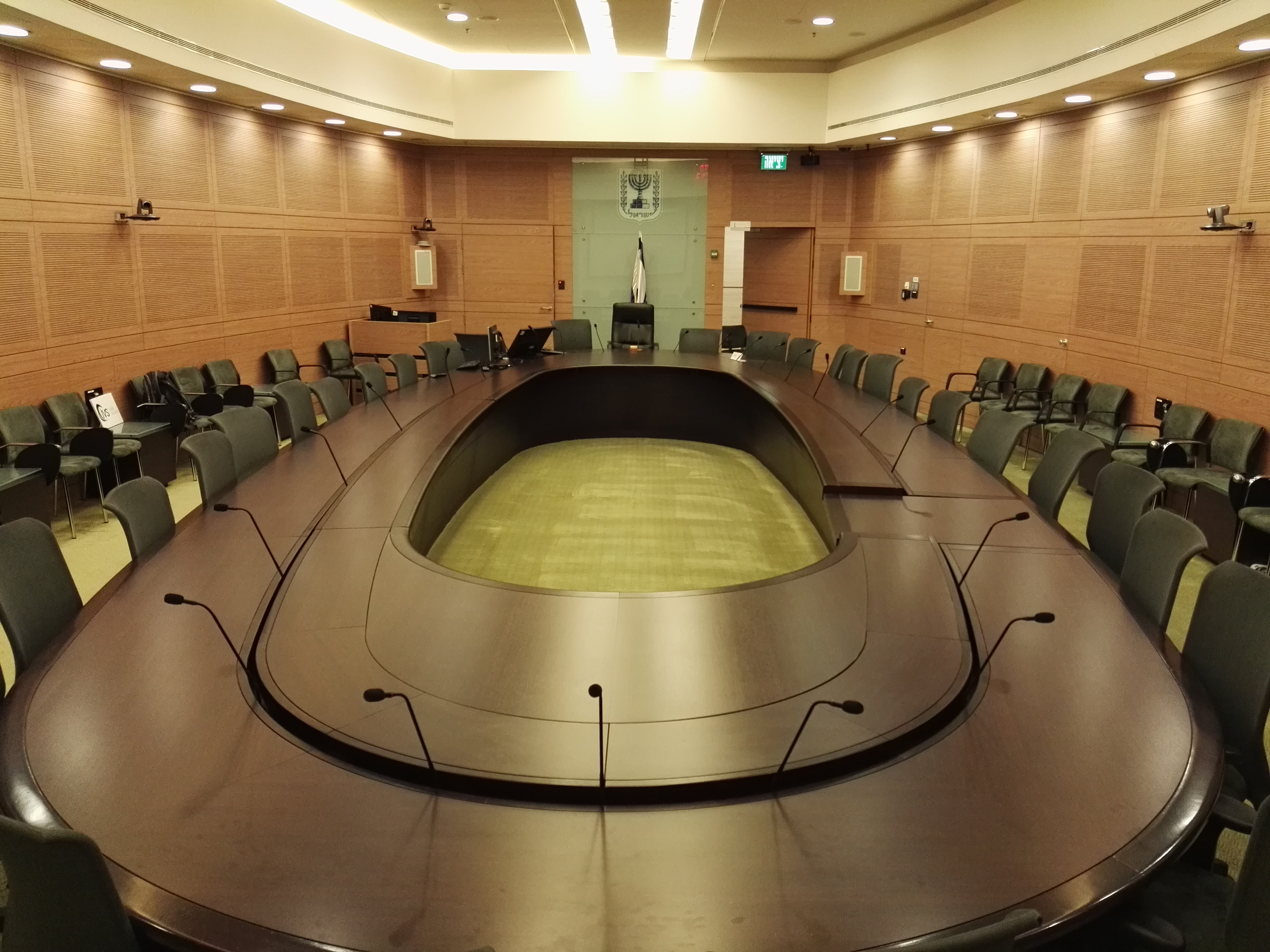 Cameras Committee project – Israeli Knesset